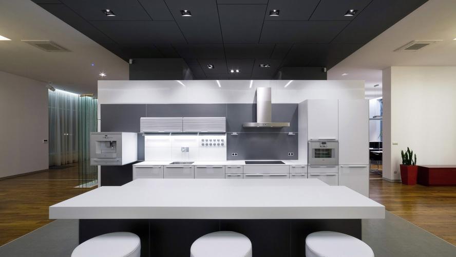 Interiérový dizajn pre Riverpark Showroom